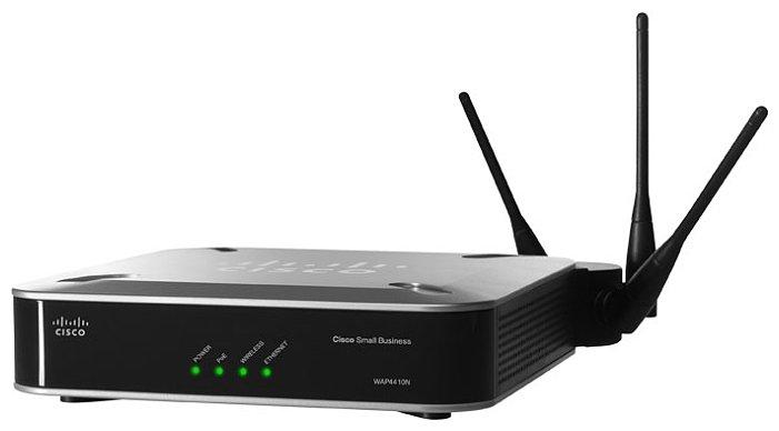 Настройки точки доступа Cisco WAP4410n